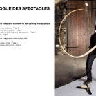 Catalogue des spectacles - Français